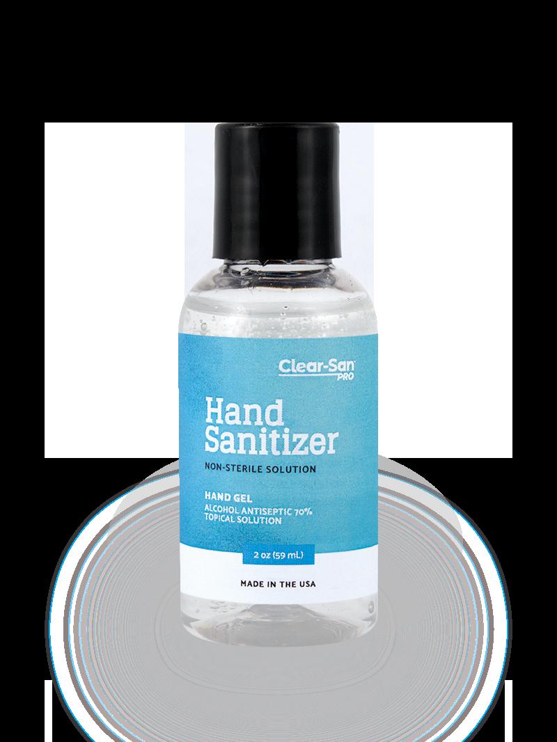Clear-San Pro - 2oz - Gel Sanitizer